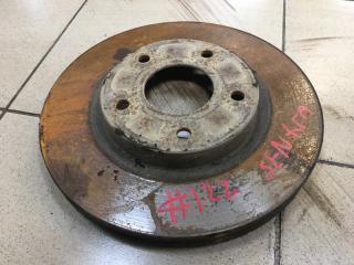 Запчасть тормозной диск передний Nissan Sentra 2014