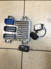 Запчасть комплект блок управления двигателем эбу Opel Astra