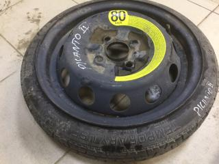 Колесо R14 / 105 / 70 Maxxis temporary use only 4x100 штамп.  (б/у)