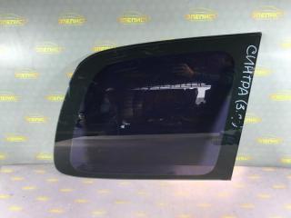Запчасть стекло кузова боковое заднее правое Opel Sintra