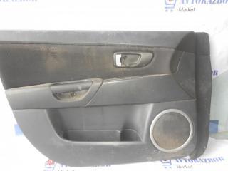Запчасть обшивка двери передняя левая Mazda 3 2007