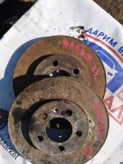 Запчасть тормозной диск передний Skoda Fabia 2012