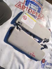 Запчасть козырек солнцезащитный Skoda Fabia 2012
