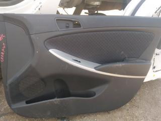 Запчасть обшивка двери передняя правая Hyundai Solaris 2013