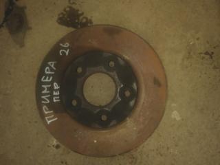 Запчасть тормозной диск передний Nissan Primera 2007