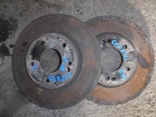 Запчасть тормозной диск передний Kia Cerato 2 АКПП 2012