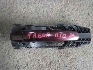 Запчасть ручка двери внешняя передняя правая Skoda Fabia 2010