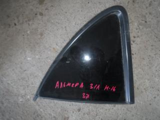 Запчасть стекло заднее левое Nissan Almera 2006