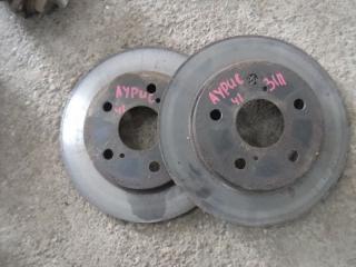 Запчасть тормозной диск задний Toyota Auris 2008