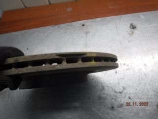 Запчасть тормозной диск передний правый LADA Калина Спорт 2011