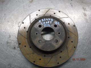 Запчасть тормозной диск передний левый LADA Калина Спорт 2011