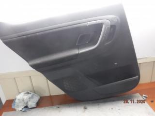 Запчасть обшивка двери задняя левая Skoda Fabia 2011