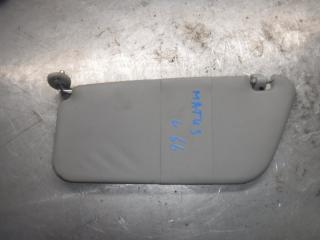 Запчасть козырек солнцезащитный левый Daewoo Matiz 2007