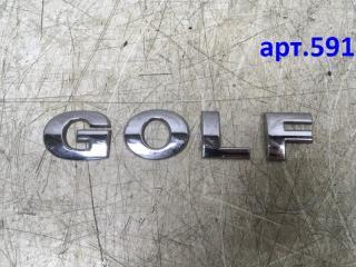 Запчасть эмблема на крышку багажника Volkswagen Golf 4 1997-2005