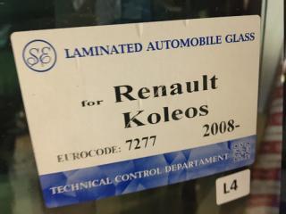 Запчасть стекло лобовое (ветровое) Renault Koleos