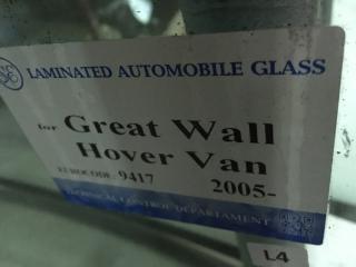 Запчасть стекло лобовое (ветровое) GREAT WALL HOVER 2005-2010