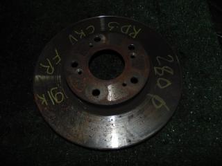 Запчасть тормозной диск передний правый HONDA CR-V 2003