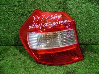 Запчасть фонарь задний левый BMW 116 2006