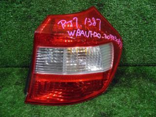 Запчасть фонарь задний правый BMW 116 2006