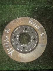 Запчасть тормозной диск передний правый VOLVO V70 2001