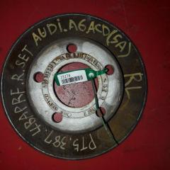 Запчасть тормозной диск задний левый AUDI A6 2002