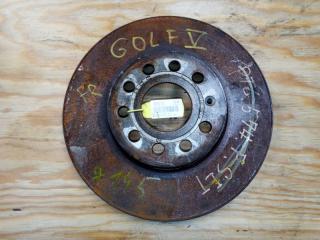 Запчасть тормозной диск передний правый VOLKSWAGEN GOLF 5 2006