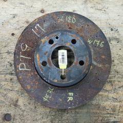 Запчасть тормозной диск передний правый MERCEDES-BENZ A180 2013