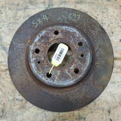 Запчасть тормозной диск передний левый SUZUKI SX4 2006