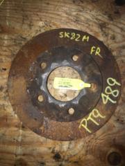 Запчасть тормозной диск передний правый MAZDA BONGO 2014