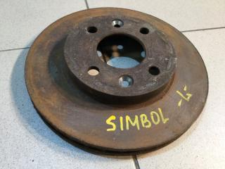 Запчасть диск тормозной передний Renault Symbol 1998-2008