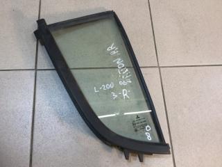 Запчасть стекло двери (форточка) заднее правое Mitsubishi L200 2006-2016
