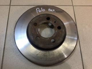 Запчасть диск тормозной передний Volkswagen Polo 2011-2020