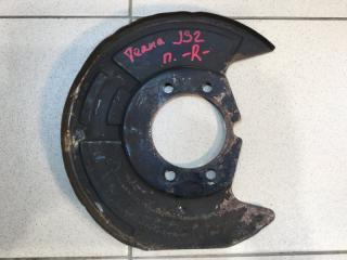 Запчасть пыльник тормозного диска Nissan Teana 2008-2013