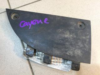 Запчасть накладка заднего бампера задняя левая Porsche Cayenne 2003-2010