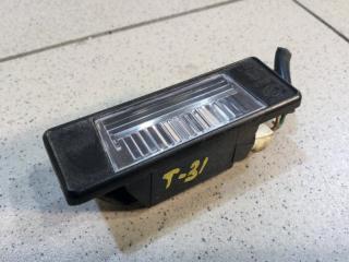 Запчасть фонарь подсветки номера правый Nissan X-Trail 2007-2014