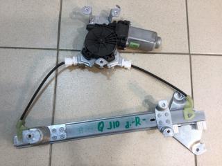 Запчасть стеклоподъемник электрический задний правый Nissan Qashqai 2006-2014