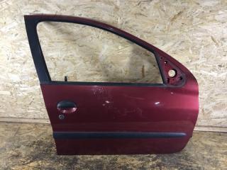 Запчасть дверь передняя правая Peugeot 206