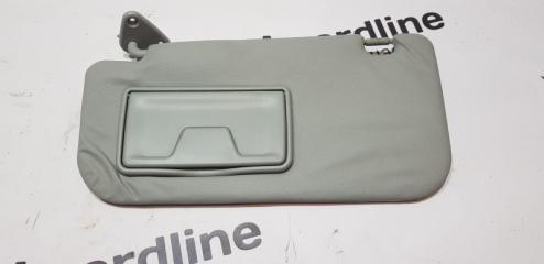 Запчасть козырек солнцезащитный левый Mitsubishi Lancer X 2007