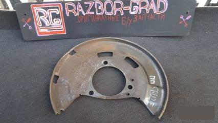 Запчасть щиток тормозного диска правый Chevrolet Cruze