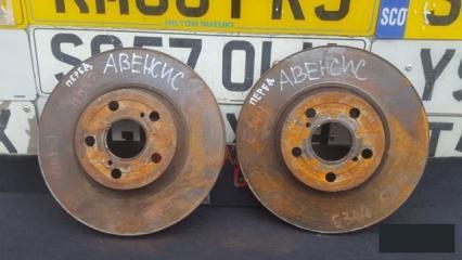 Запчасть тормозной диск передний Toyota Avensis