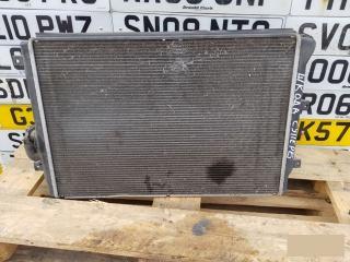 Запчасть радиатор печки Skoda Superb