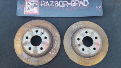 Запчасть тормозной диск задний Chevrolet Cruze 2012